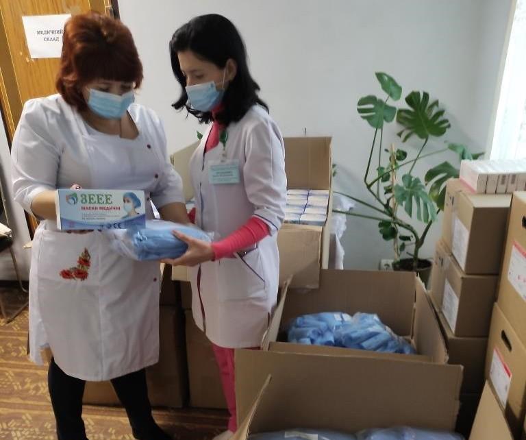 Український фонд соціальних інвестицій допомагає  первинній медицині у місті Синельникове